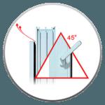 Микропроветривание стеклопакетов в ПОДАРОК